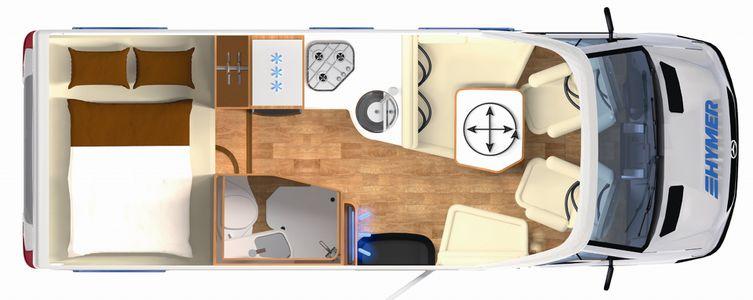 HYMER B-Class Moderncomfort-T 550