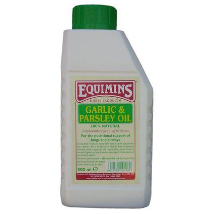 EQUIMINS GARLIC & PARSLEY OIL-Fokhagyma és petrezselyem olaj 500ml