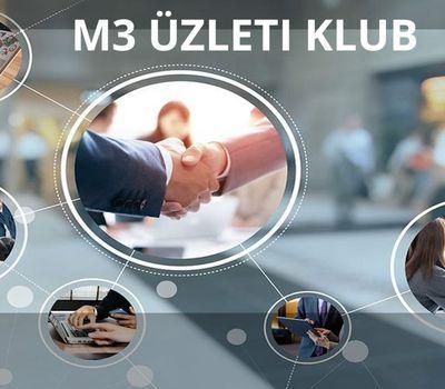 M3 üzleti klub - online találkozó