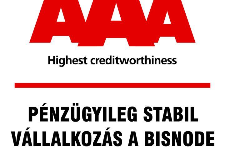 """BISNODE """"AAA"""" - ismét."""