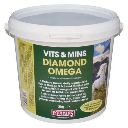 EQUIMINS DIAMOND OMEGA-– Őrölt porlasztott vitaminos lenmag vödrös 2kg