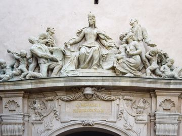 Sopron - Hűségkapu - szoborcsoport