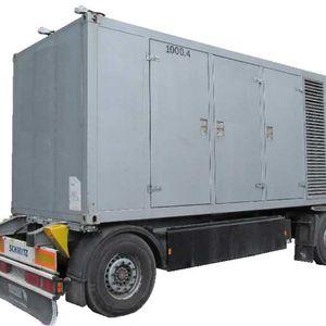 Áramfejlesztő (szuper-csendes kivitel) - 1000 kVA (2x500kVA)