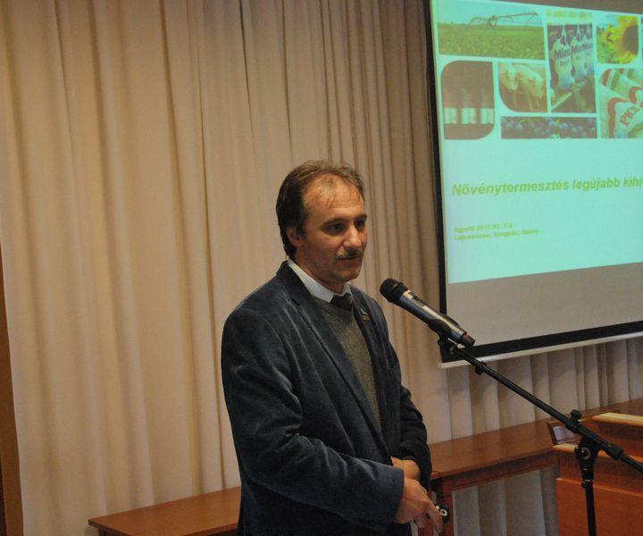 KONFERENCIA-KÖRÚT – gondolatok Gyenei Ferenc növénytermesztési igazgató előadásából