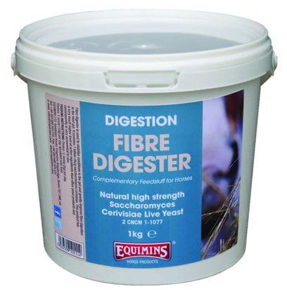 EQUIMINS FIBRE DIGESTER- Rost emésztést elősegítő Saccharomyces Cerivisae élesztő por 1kg