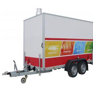 Mobil gőzkazán - 400 kW/ 600 kg/h