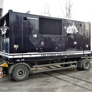 Stromaggregat - Supersilent (Showpower)  1000 kVA