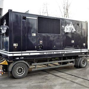Áramfejlesztő (szuper-csendes kivitel) - 1000 kVA (2x500 kVA)