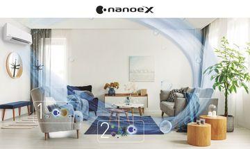 Panasonic NanoeX légtisztító A nanoe™ technológia tulajdonságai