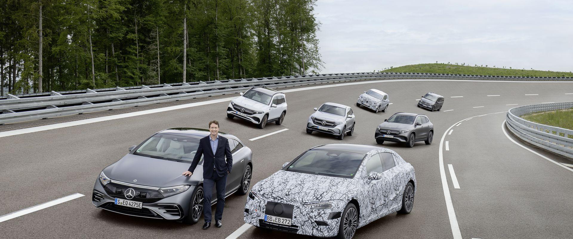 A Mercedes-Benz felkészül a teljes elektromos váltásra
