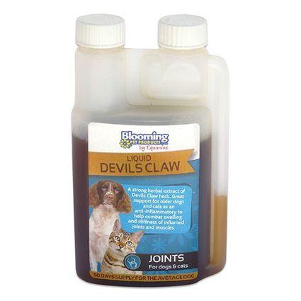 EQUIMINS DEVILS CLAW HERBAL EXTRACT -Ördögcsáklya oldat kutyáknak és macskáknak 250 ml
