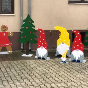 Vitnyéd karácsonyi díszei
