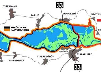 tisza tó térkép végleges