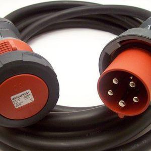Kabel CEE 16A - CEE 125A