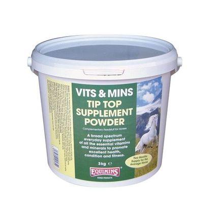 EQUIMINS TIP TOP VITAMIN– Tip Top koncentrált vitamin por 2kg