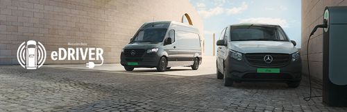 Teszteld eDriver Programunkban, mire képes egy elektromos Mercedes-Benz transzporter!
