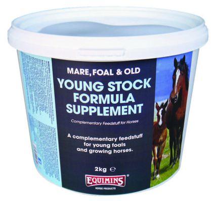 EQUIMINS YOUNG STOCK SUPPLEMENT-Koncentrált vitamin kiegészítő csikók számára 2kg