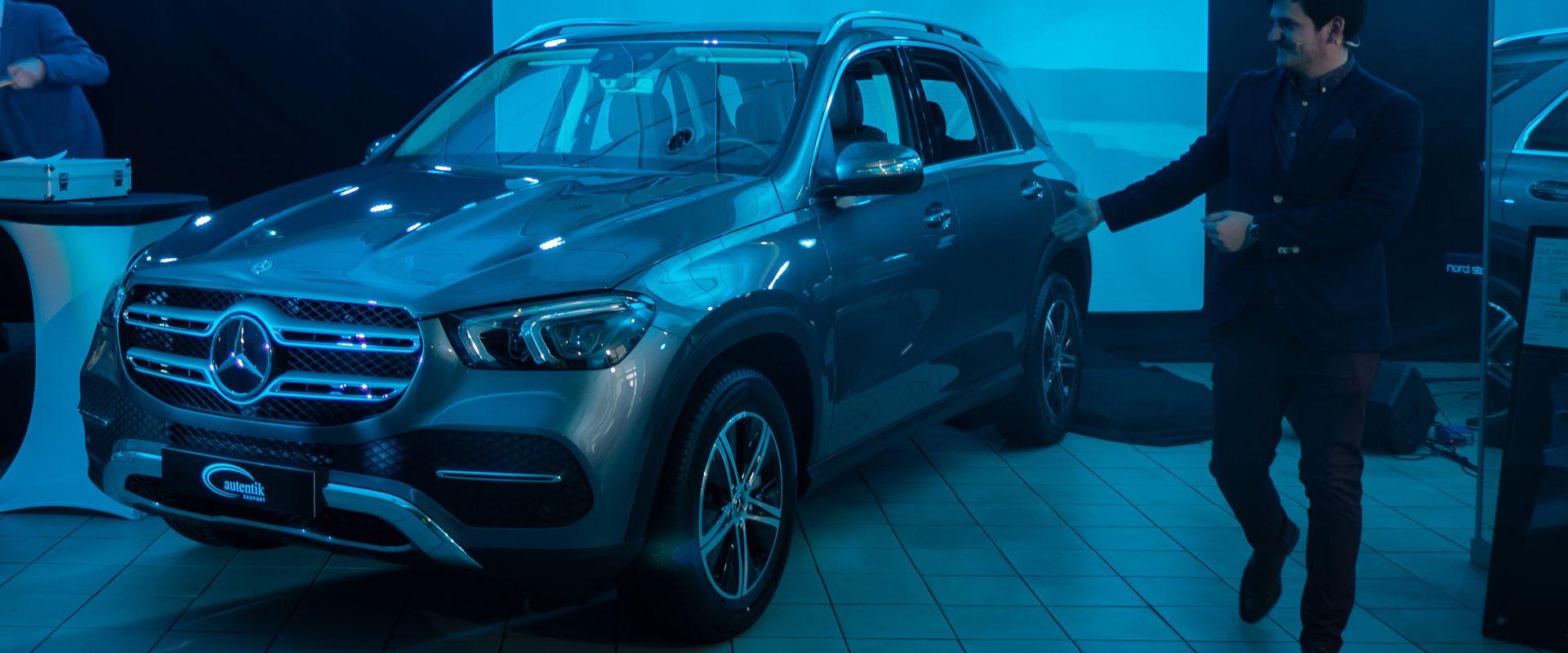 Soproni szalonunkba megérkezett az új Mercedes-Benz GLE modell!