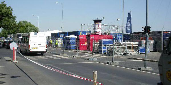 2008. Budapest-Red Bull Air Race - teljes áramellátása