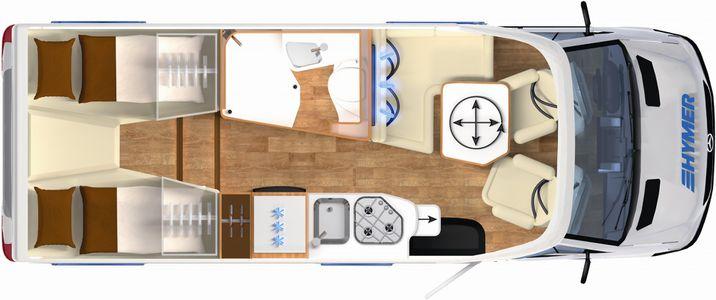 HYMER B-Class Moderncomfort-T 580
