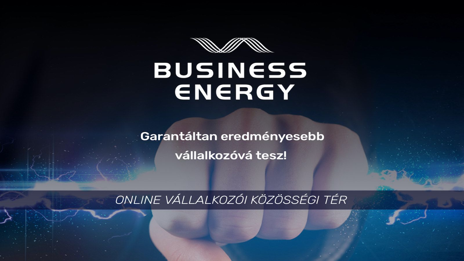 Business Energy » online üzleti klub