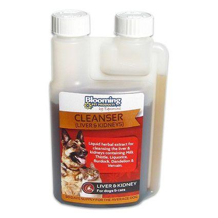 EQUIMINS CLEANSER-máj és vesetisztító gyógynövényi oldat kutyáknak és macskák 250ml