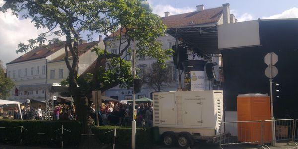 2009. Sopron.Szűreti Napok - áramellátás