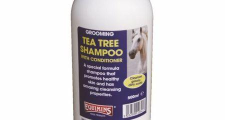 EQUIMINS TEA TREE SHAMPOO-Teafa sampon 1L