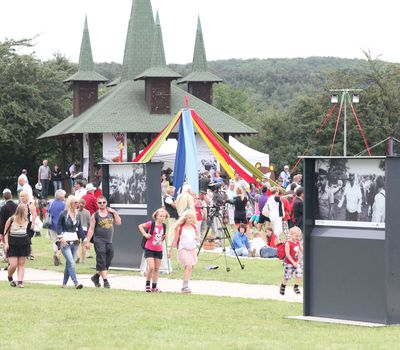 Paneuropäisches Picknick Gedenkpark - Feierlichkeit