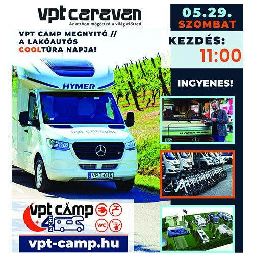 A lakóautós Cooltúra napja & VPT CAMP megnyitó szombaton!