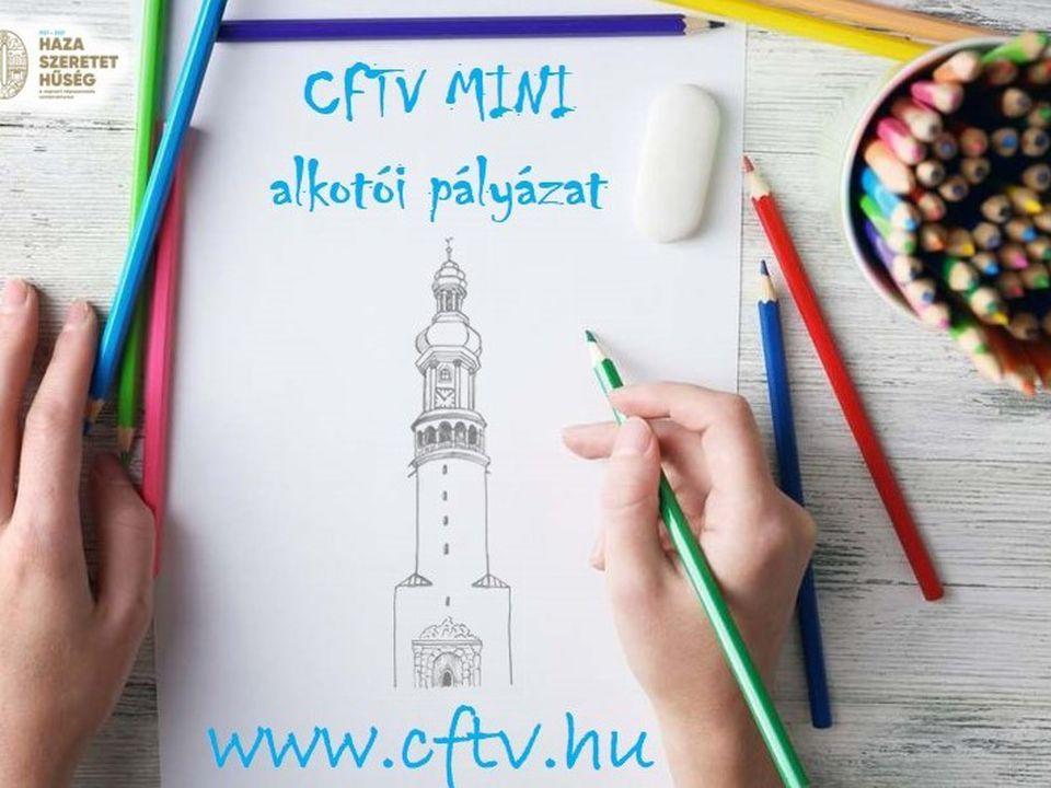 Meghosszabbított határidővel várják az alkotásokat a CFTV MINI alkotói pályázatra