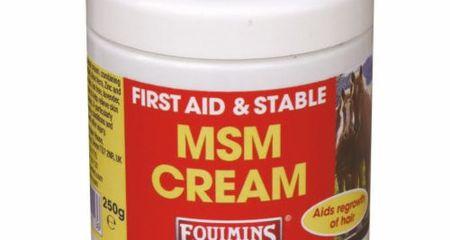 EQUIMINS MSM krém gyógyhatású készítmény 500g