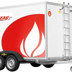 Mobil gázolajas fűtőkazán - 50-2.500 kW