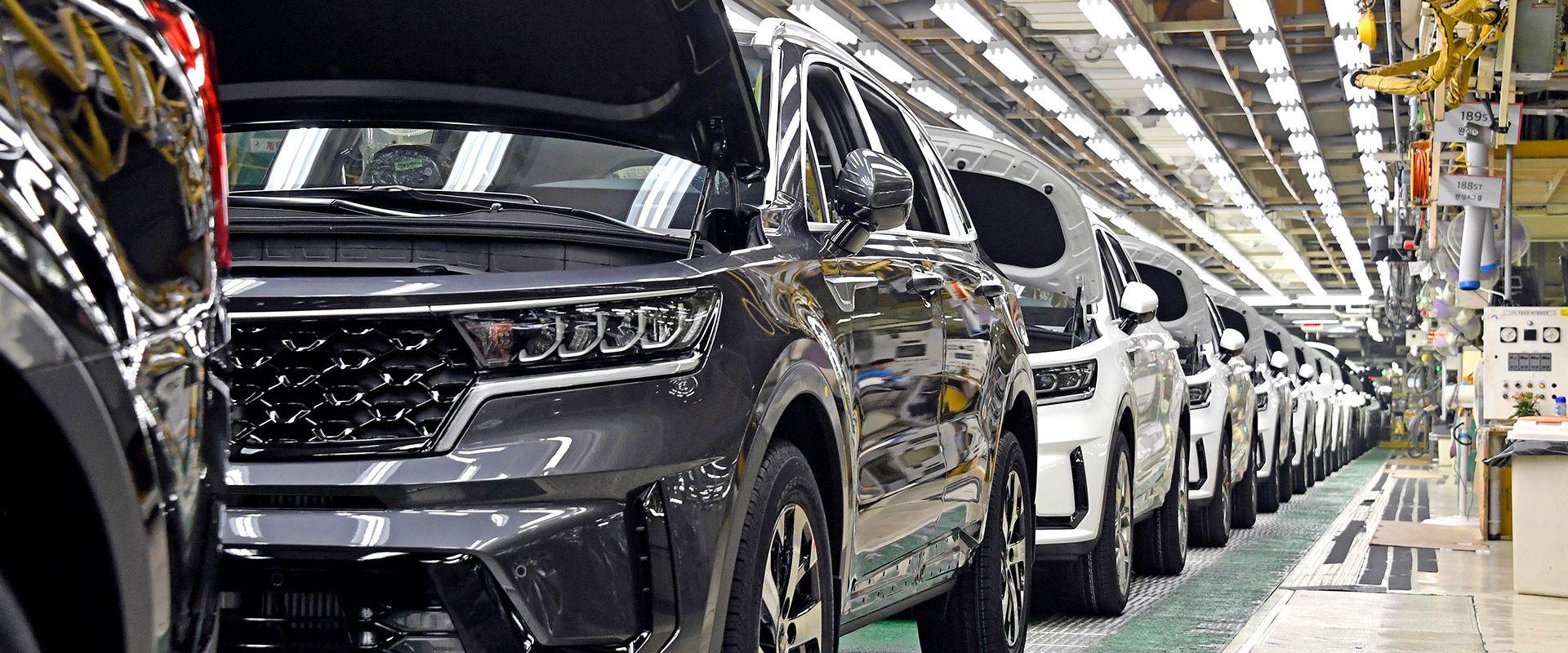 Elindult a Sorento Hybrid gyártása