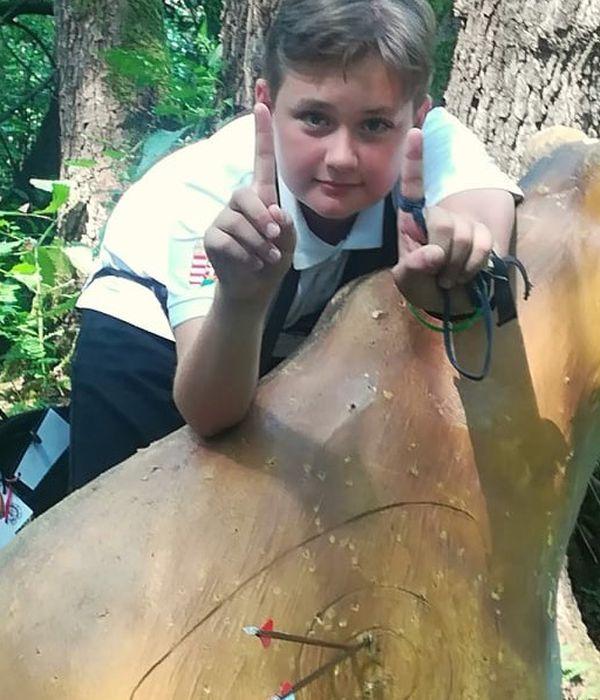 Rajzversenyt nyert íjászbajnok, akit érdekel a robotika