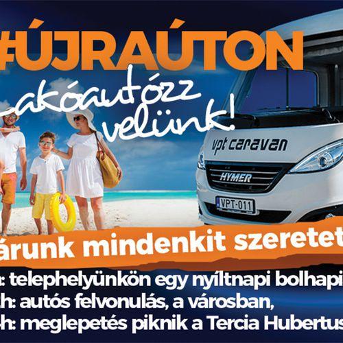 VPT Caravan nyílt nap és bolhapiac szombaton!