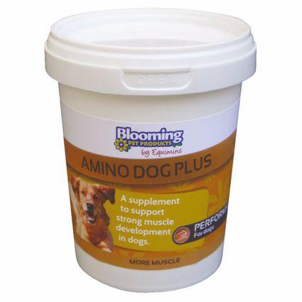 EQUIMINS AMINO DOG PLUS-Magas aminosav tartalmú izomtömeg növelő, erősítő kiegészítő kutyáknak 200 gr
