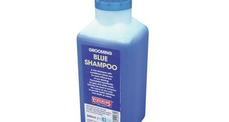 EQUIMINS BLUE SHAMPOO-Kék sampon szürke lovaknak1L