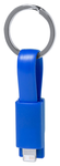 Holnier USB töltős kulcstartó