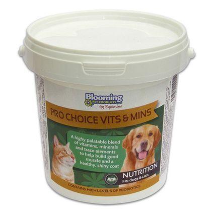 EQUIMINS BP PRO CHOICE-komplex vitamin kutyáknak és macskáknak 600g