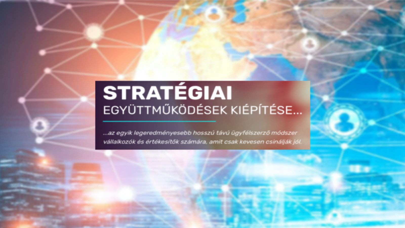 Stratégiai Együttműködés tréning