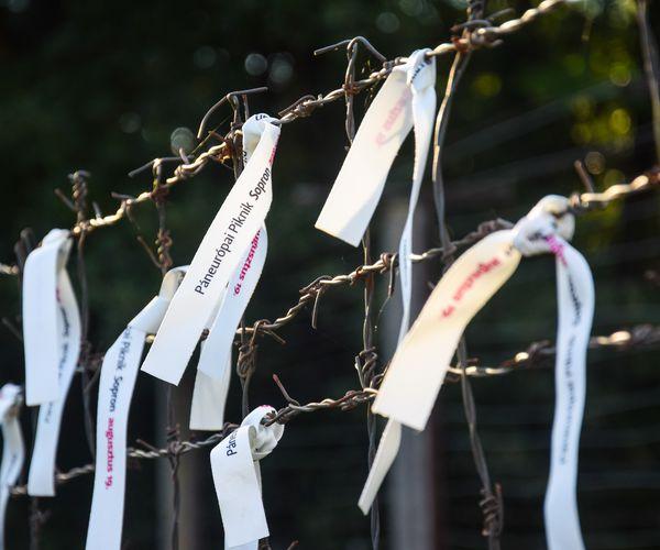Gedenkfeier zum 32. Jubiläum des Paneuropäischen Picknicks und des Grenzdurchbruchs