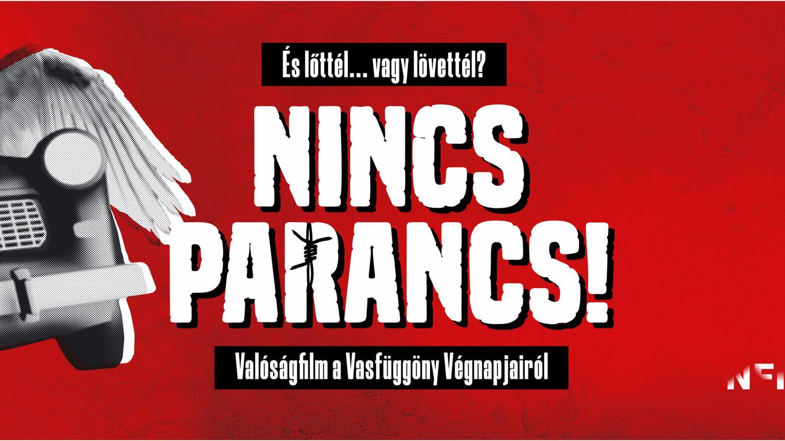 NINCS PARANCS! - Sopronban is látható Szalay Péter filmje