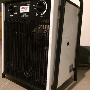 Elektromos hőlégbefúvó  15 kW