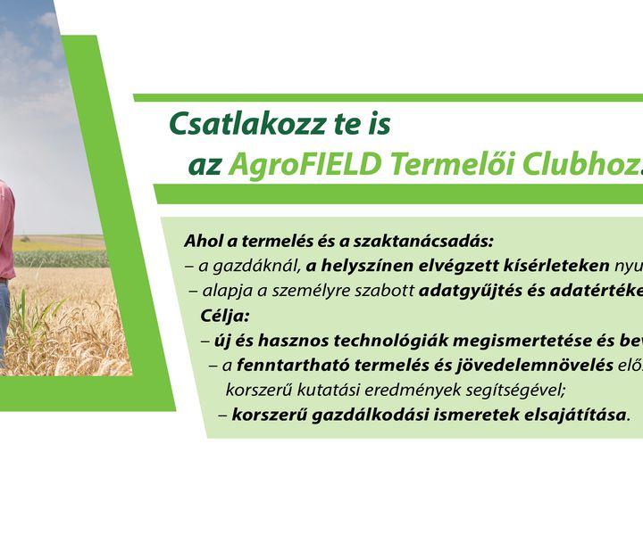 AgroFIELD Termelői Club (ATC)