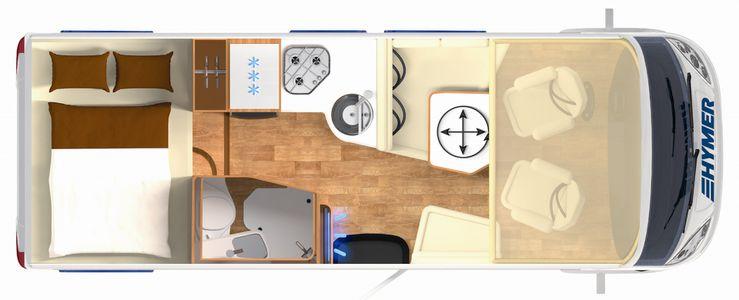 HYMER B-Class Moderncomfort-I 550