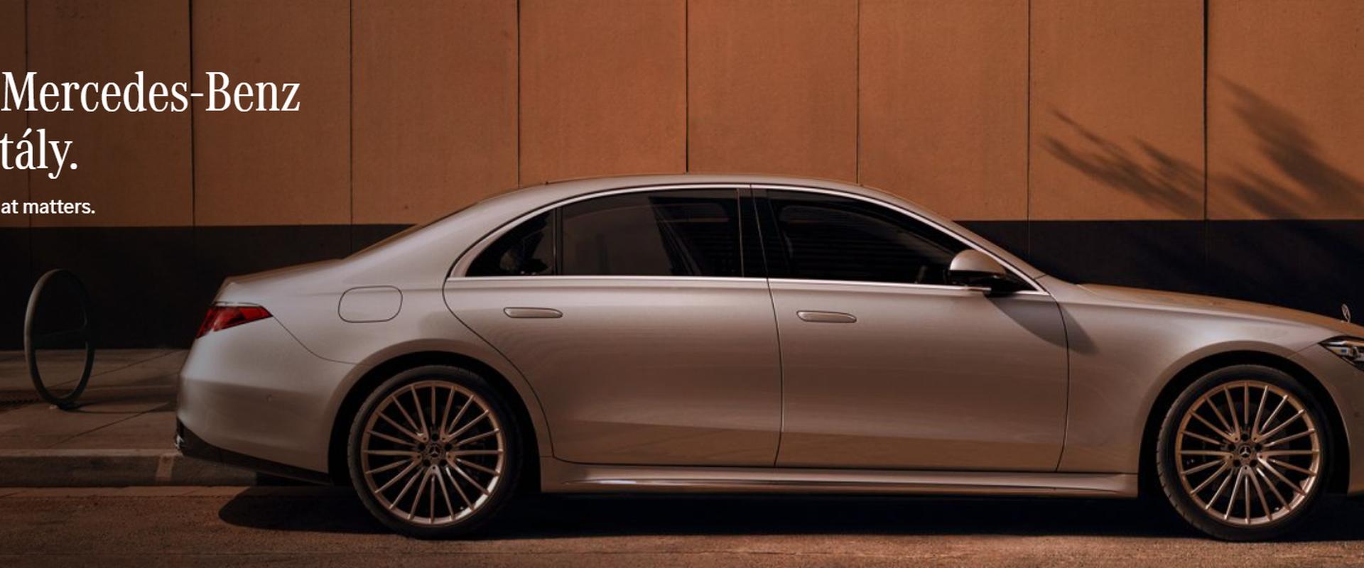 Megérkezett a lenyűgöző, új  Mercedes-Benz S-osztály!