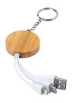 Laiks kulcstartó USB töltőkábellel