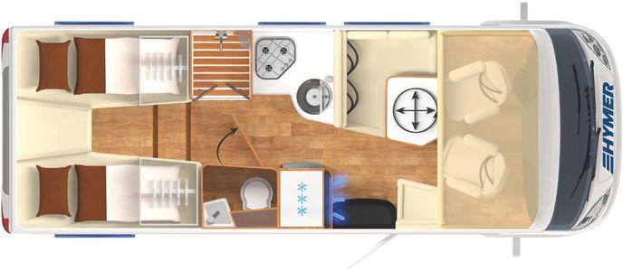 HYMER B-Class Moderncomfort-I 680