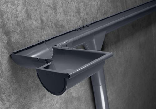 INGURI® festett külsőperemes ereszcsatorna rendszer